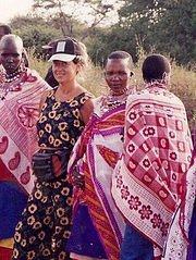io tra i masai di famiglia