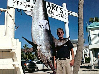 Big 364 lb swordfish!!