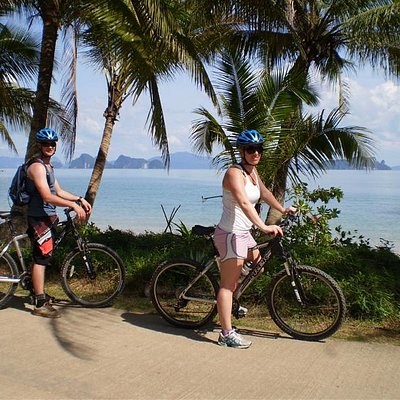 Biking in Koh Yao Noi (Long Small Island)