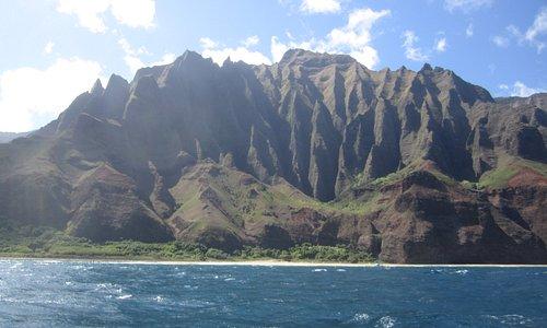 Beautiful Na Pali coast