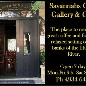 The entrance to Savannah on Swan, Morpeth