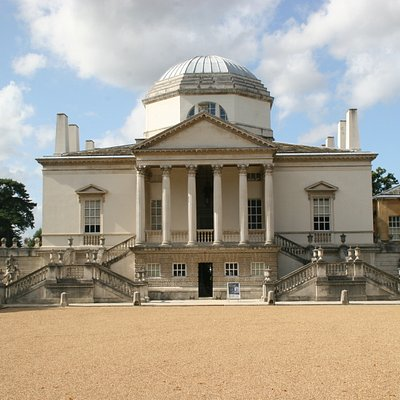 Chiswick House classic view