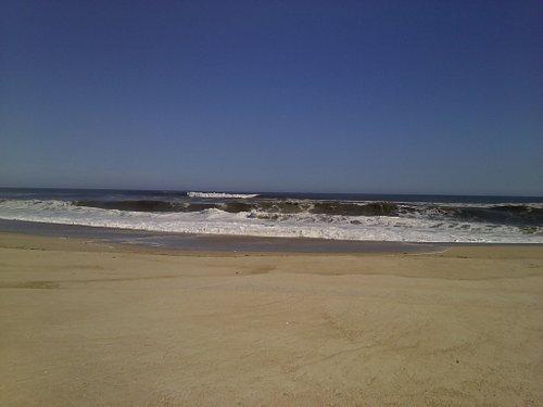 Beach on Ocean side, Shinnecock East County Park
