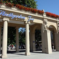 Zoo de Karlsruhe - Entrée principale en face de la gare
