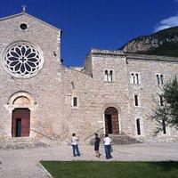 Veduta del complesso abbaziale
