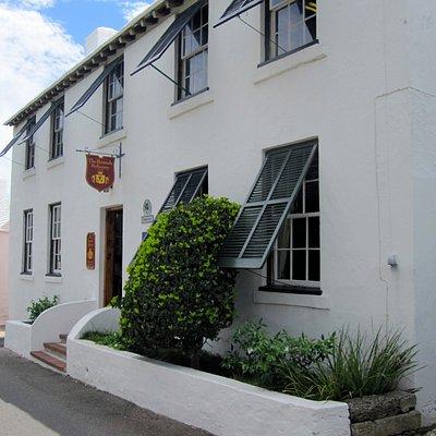 The Bermuda Perfumery Entrance