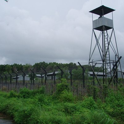 The prison and watch tower