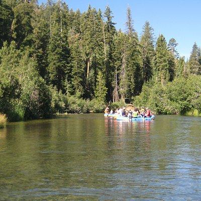 River rafting trip, August 2011