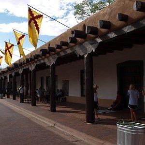 Soportales del museo (Palacio de los Gobernadores)