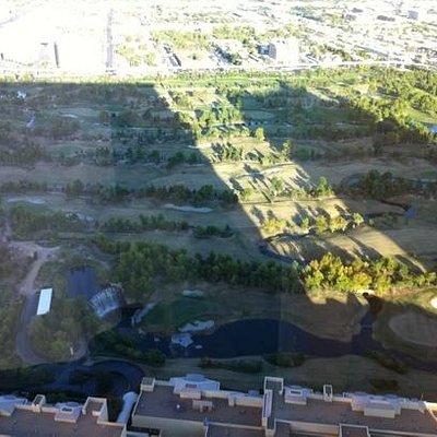 vista desde el piso 60 del hotel wynn