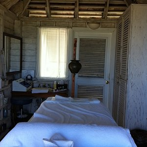 one of 2 treatment rooms