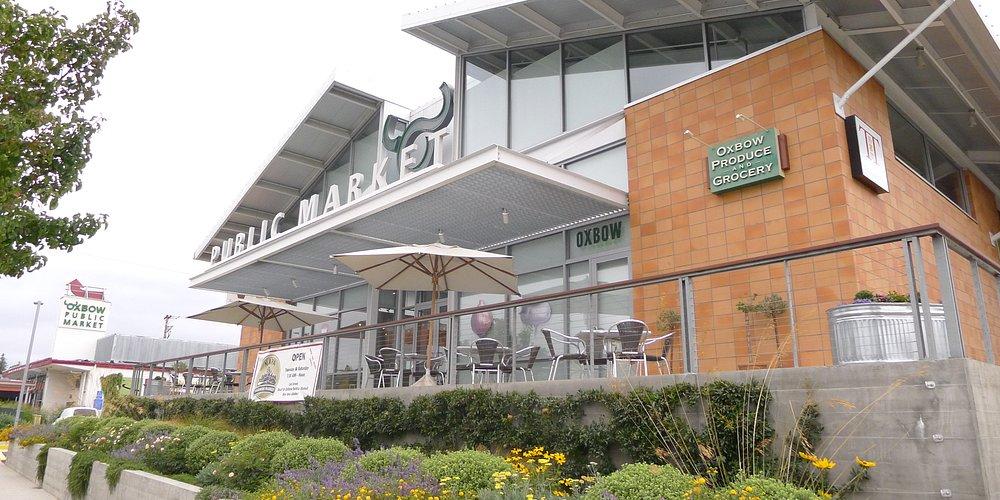 Oxbow Public Market - from outside