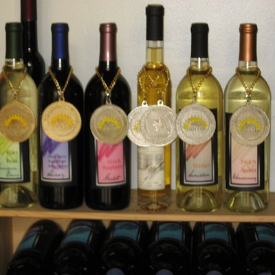 We don't need awards to make good wine. But is nice to get them