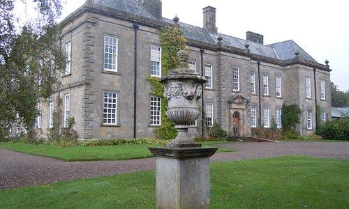 Wallington halls front entrance.