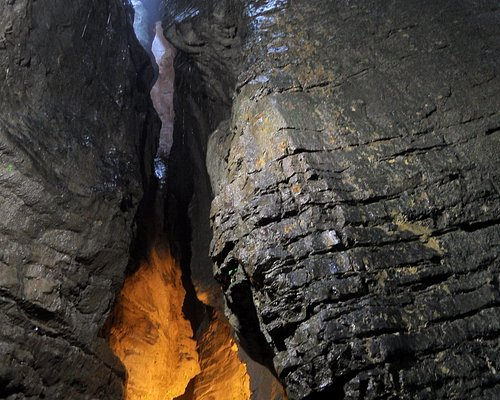 The lower cave