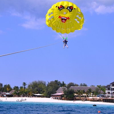 Me in Nungwi flying