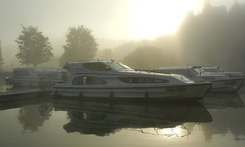 The boat at Chatel Censoir