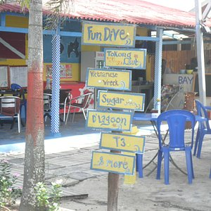 Many dive sites to explore