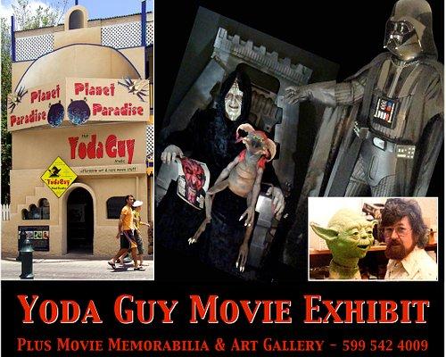 Yoda Guy Movie Exhibit, Front Street St Maarten