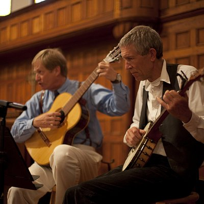 Bill Schlitt & Bart Saylor perform music of the Civil War