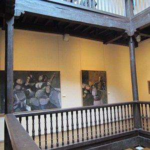 Hermoso marco para un museo
