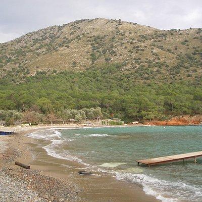 kleine Bucht hinter Fehiye mit Restaurant