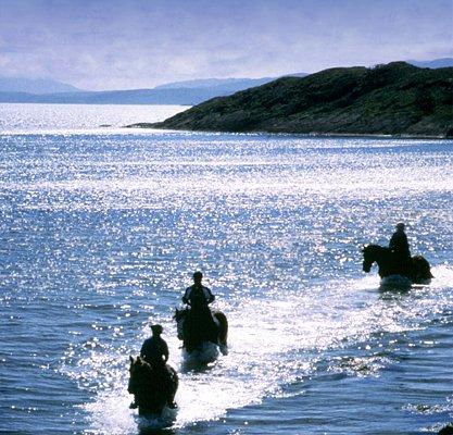 Horse Riding at Argyll Adventure Inveraray Argyll Scotland