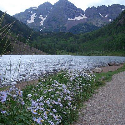 Maroon Bells Lake, Aspen, Colorado