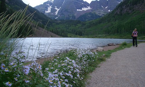 Maroon Bells Lake, Aspen, Colorado
