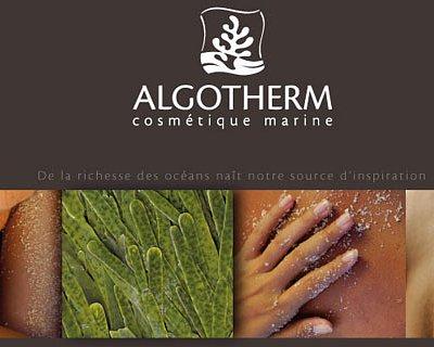 Soins Corps Algotherm et vente des produits