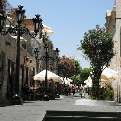 Historic Pedestrian Avenues