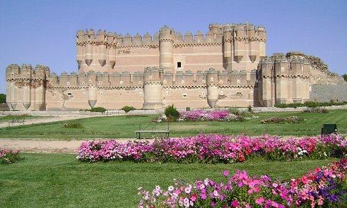 Castillo de Coca, Segovia.