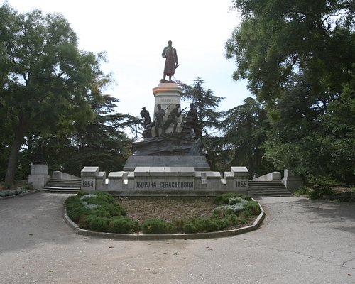 The monument to the siege