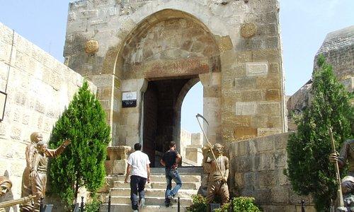 Antep Castle entrance