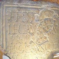 Roman Circus- inscription on pillar