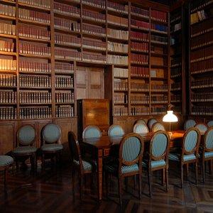 Una sala di lettura