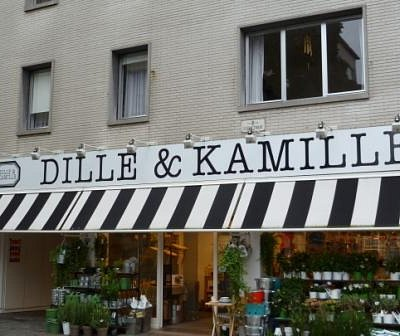 Storefront, Dille and Kamille
