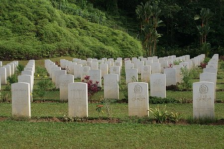 Rows Of Neatly Kept Graves