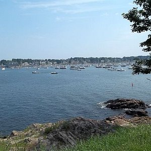 another view of the Bay as seen from Fort Sewall