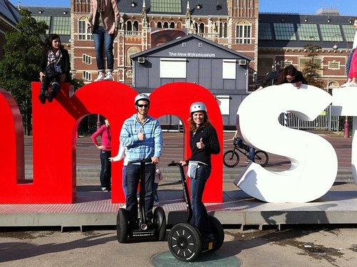 Amsterdam Sightseeing Segway Tour