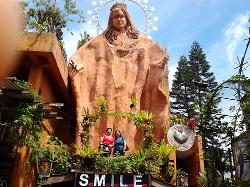 Mama Mary's large statue