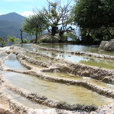Le pozze di Baishuitai