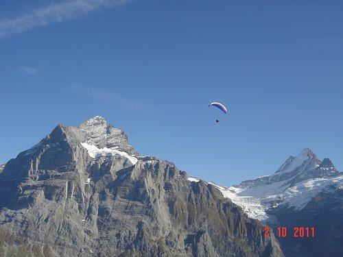 view from Grosse Scheidegg/Grindelwald