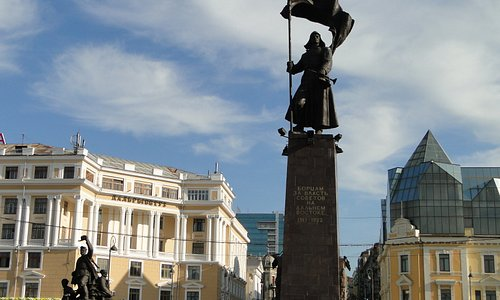 Huge monument