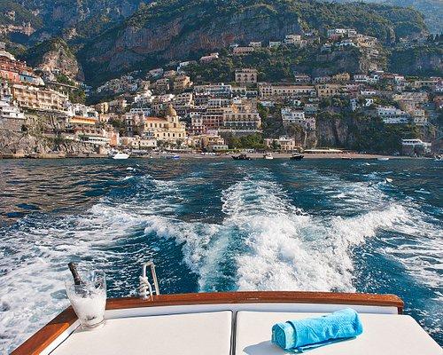 Positano Boats - Panorama