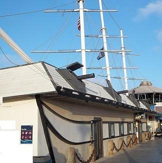 Shark Attack shop building