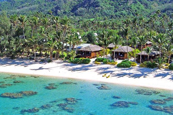 aerial view - Deretan Destinasi Wisata di Kepulauan Cook