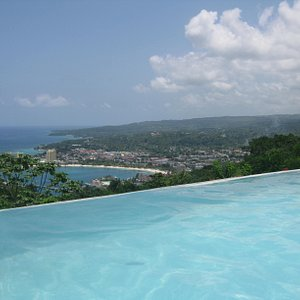 the view from the pool