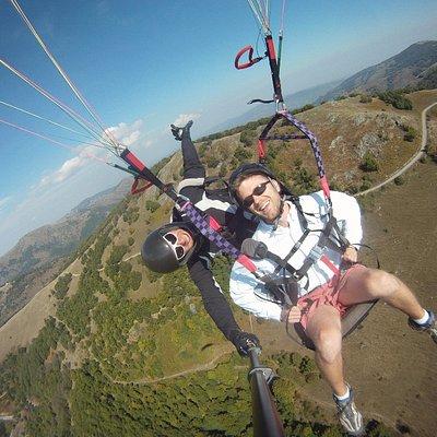 paragliding skopje