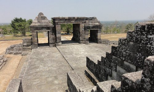 Ratu Boko Temple Compounds